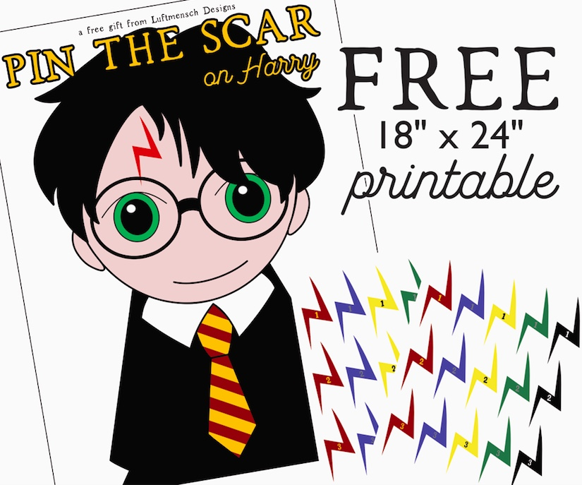 picture relating to Harry Potter Tie Printable referred to as Cost-free Harry Potter Occasion Activity! Luftmensch Models